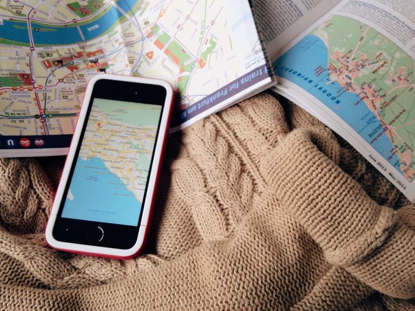 Iphone voyage