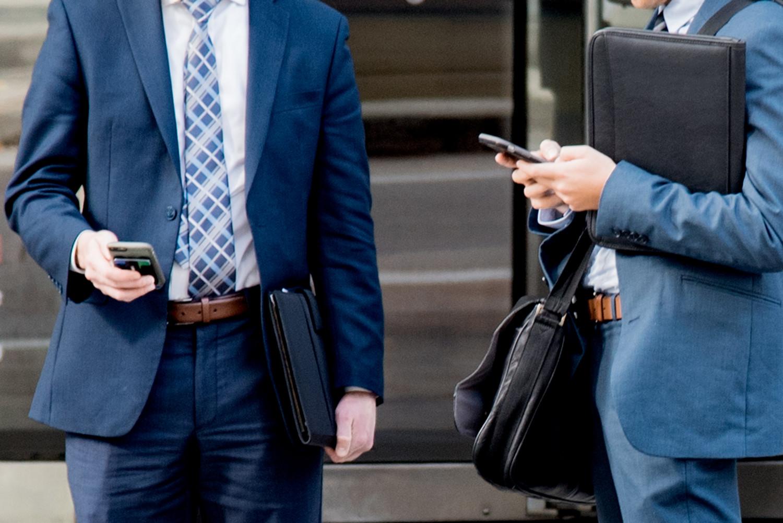 les smartphones travail